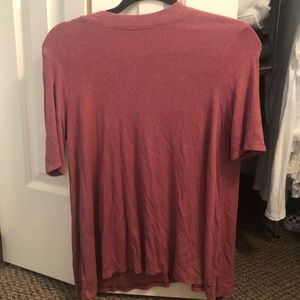 American eagle shirt with cut out back
